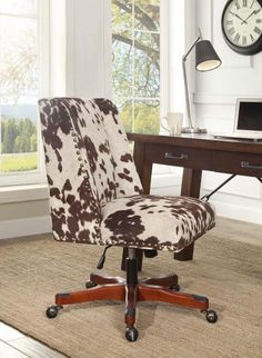 i love cowhide stuff! cowhide large ottoman | for the home