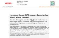 IAM dans l'Express.fr le 9 janvier 2017