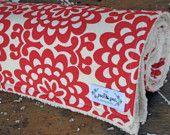 Baby Girl Chenille Baby Blanket - Lilac Bloom Flowers - Joel Dewberry Aviary 2. $35.00, via Etsy.