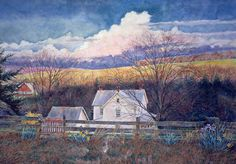 Capturing our Vanishing American Landscape Country Art, Country Living, David Armstrong, Farm Art, Cabins And Cottages, Take Me Home, Craft Fairs, Barns, Pennsylvania