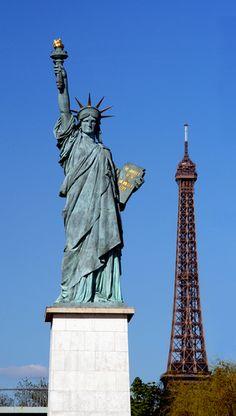 Statue de la Liberté - Ile aux Cygnes // Mini Lady Liberty in Swans Island - Paris