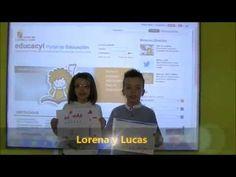Poesía de Gloria Fuertes. Lorena y Lucas, alumnos de 1º de Ed. Primaria del CEIP San Gil (Cuéllar. Segovia)