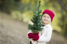 Baby Girl In Red Mittens and Cap Holding Small Christmas Tree. Holiday List, Holiday Fun, Winter Holidays, Happy Holidays, Red Mittens, Small Christmas Trees, Photo Tree, Science Activities, Winter Hats
