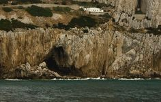 One of Gorham's spectacular caves as seen from the water