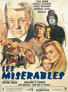 Parties 1 du film Les misérables réalisé par Jean Paul Le Chanois