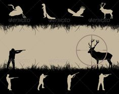 Realistic Graphic DOWNLOAD (.ai, .psd) :: http://jquery-css.de/pinterest-itmid-1001083091i.html ...  ...  aim, animal, autumn, banner, bird, black, collection, concept, deer, frame, grass, gun, hobbies, horizontal, hunter, hunting, illustration, isolated, male, man, nature, rifle, season, silhouette, sport, swan, target, vector  ... Realistic Photo Graphic Print Obejct Business Web Elements Illustration Design Templates ... DOWNLOAD :: http://jquery-css.de/pinterest-itmid-1001083091i.html