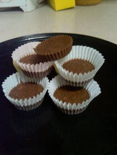 Low Carb Healthy Journey: Chocolate Peanutbutter cups
