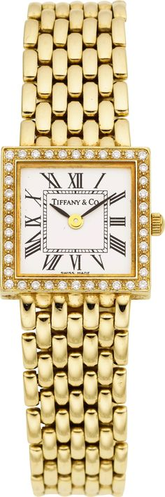 Tiffany & Co. Lady's Diamond, Gold Integral | Lot #59004 | Heritage Auctions