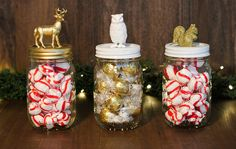 An adorable way to display and store holiday treats.
