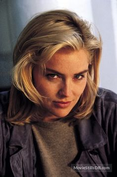 A gallery of Basic Instinct publicity stills and other photos. Featuring Sharon Stone, Michael Douglas, Jeanne Tripplehorn, Leilani Sarelle and others. Curly Half Wig, Half Wigs, Hair Color Asian, Asian Hair, Beautiful Celebrities, Beautiful Actresses, Sharon Stone Photos, Grey Wig, Loose Waves Hair