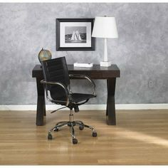 Office Star TND941A-ES Trinidad Office Chair by Office Star. $136.99. Fabric:Espresso Avenue Six Trinidad Office Chair  Attractive and functional  Adjustable height and tilt for ergonomic support  One touch pneumatic seat height adjustment  Contour seat and back with built-in lumbar support  Heavy duty chrome base with dual wheel carpet casters  PVC covered arms for comfort  PVC seat and back. Save 60% Off!