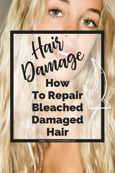 Repair damage to your hair that was caused by bleaching and coloring it. How To Repair Your Bleached Damaged Hair. beschädigt How To Repair Bleached Damaged Hair Damaged Hair Repair Diy, Bleach Damaged Hair, Bleached Hair Repair, Hair Mask For Damaged Hair, Bleaching Your Hair, Bleach Blonde Hair, Diy Hair Mask, How To Bleach Hair, Hair Masks