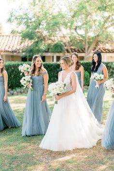 """This Is Exactly What We See When Picturing a """"Secret Garden"""" Wedding Theme and We're Obsessed. Bridesmaid Accessories, Bridesmaid Dresses, Wedding Dresses, Bridesmaids, Perfect Wedding, Dream Wedding, Wedding Day, Hamptons Wedding, Wedding Wishes"""
