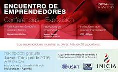 Encuentro Gratuito de #Emprendedores Tucumán - Abril 2016 Display Stands, Short Stories