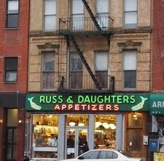 Russ & Daughters, Orchard Street, East Village, NYC