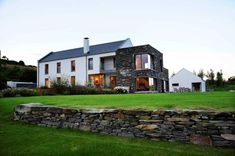 If this high-end, West Cork house looks familiar, it's because it graced these pages a year ago as a stand-out example of quality contemporary architecture (delivered by Germans) in part of the south's most wonderful landscape. Farmhouse Architecture, Contemporary Architecture, Silo House, Irish Cottage, Coastal Homes, House Goals, Modern Farmhouse, New Homes, House Design