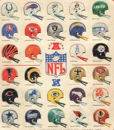 Topps Football Sticker Album (Album Back Cover) - HD Wallpapers Football 101, Nfl Football Helmets, Football Memes, Football Stuff, School Football, Football Players, American Football League, National Football League, Nfl Uniforms