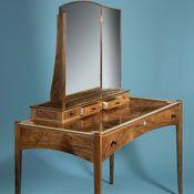 Walnut dressing table by Nick Thwaites Furniture. Bespoke Furniture, Fine Furniture, Furniture Making, Wood Furniture, Furniture Design, Furniture Ideas, Dressing Table Mirror, Dressing Tables, Woodworking Inspiration