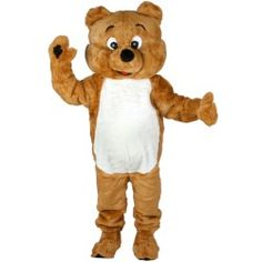 Huggy Bear Mascot Adult Costume