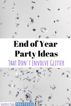End of Year Party Ideas for Upper Elementary End Of Year Party, End Of School Year, End Of Year Activities, Fun Activities, Fourth Grade, Third Grade, Teacher Tired, Fun Ideas, Party Ideas