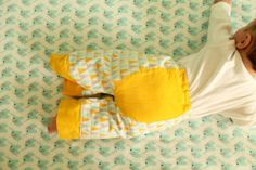 Big Butt Baby Pants from www.made-by-rae.com, in Cloud9 Fabrics Fanfare Flannels
