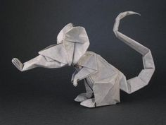 61 Best Origami Animals Mouse Images On Pinterest
