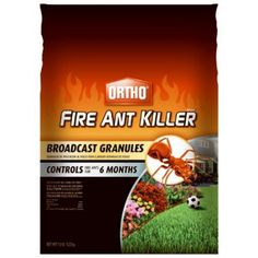 Ortho MAX Fire Ant Killer Broadcast Granules 115 lbs Sold in select Southern states >>> See this great product. Kill Fire Ants, Skin Active, Pest Management, Garden Pests, Pest Control, Lawn And Garden, Outdoor Gardens, The Selection, How To Apply