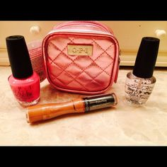 NWT OPI Lot New OPI nail polishes and Revlon lip gloss. OPI Makeup