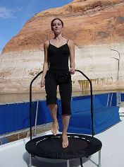 I love my rebounder and all the awesome benefits.  It is exercise that doesn't feel like exercise!  :)