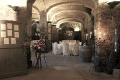 Brilliant - Vineyard cellar reception (Andrea Weddings) | CHECK OUT MORE GREAT VINTAGE WEDDING IDEAS AT WEDDINGPINS.NET | #weddings #vintagewedding #weddingvintage #oldweddingphotos #events #forweddings #iloveweddings #romance #vintage #planners #old #ceremonyphotos #weddingphotos #weddingpictures