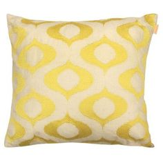 Artistic Linen Tyra Embroidered Throw Pillow Color: