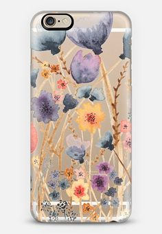 Mother's Day hint? lol... floral field iPhone 6 case by Ashley Lynn Kesler | Casetify