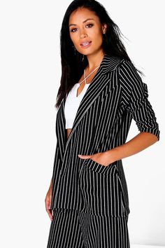 Shop boohoo's range of womens and mens clothing for the latest fashion trends you can totally do your thing in, with of new styles landing every day! Color Negra, Online Shopping Clothes, Latest Fashion Trends, Blazer Jacket, Wrap Dress, Amelie, Boohoo, Plastic Raincoat, Fur Coats
