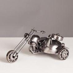 Miniatura Moto - Sidecar - Machine Cult - Kustom Shop | A loja das camisetas de carro e moto