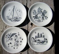 Scandinavian Design, Finland, Home Projects, Dinnerware, Decorative Plates, Pottery, Ceramics, Dishes, Tableware