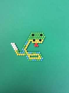 """Sssssssss"" said the #aquabeads snake"