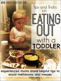 Tips and Tricks on Eating Out with a Toddler