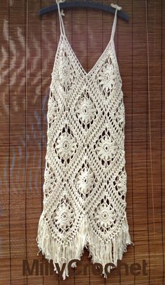 Boho Dress Crochet Pattern , Crochet Dress pattern Women PLUS cotton yarn, Cotton Yarn and pattern for summer crochet dress : Crochet Boho Dress PATTERN and material Sundress PATTERN plus Crochet Motifs, Crochet Shawl, Crochet Lace, Cotton Crochet, Boho Crochet Patterns, Crochet Festival Dresses, Crochet Summer Dresses, Sundress Pattern, Dress Patterns