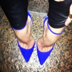 Cobalt sex i mean heels with toe cleavage  ♥  ♥