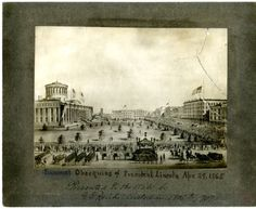 Funeral Obsequies of President Lincoln Apr. 29, 1865; Columbus, Ohio