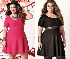 Plus Size Fashion Style: Flúvia Lacerda by Lojas Marisa: Moda Acessível Plu...