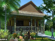 Wooden Houses Tiny Cabins House Furniture Bamboo Tropical Bahay Kubo Farm