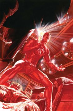 Daredevil by Alex Ross. I had no idea this existed but oh my god am I glad that it does.