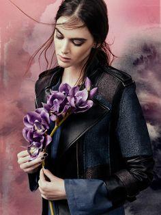 #BCBG #BCBGMAXAZRIA #jacket #fashion #style #flowers