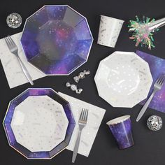 out of this world collection...perfect for an outer space, galaxy, or star wars party!
