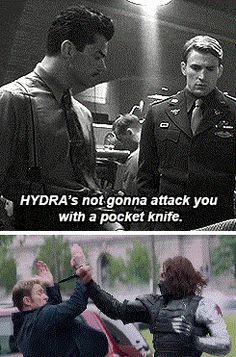 Captain America: The First Avenger AGAINST Captain America: The Winter Soldier ... You will never know...