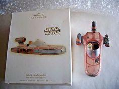 Hallmark 2009 LUKE'S LANDSPEEDER X-34 Star Wars A New Hope QXI1152