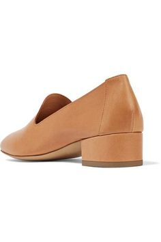 Mansur Gavriel - Venetian Leather Loafers - Camel - IT38.5