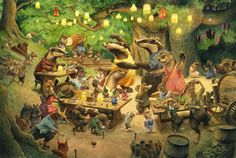 Christopher Dunn | ILLUSTRATION | Woodland Party
