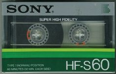 Casette Tapes, Sony Electronics, Hi Fi System, Magnetic Tape, Tapas, Fb Covers, Vintage Music, Boombox, Audio Equipment
